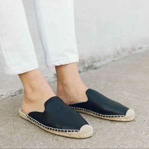 Soludos Tumbled Leather Mule